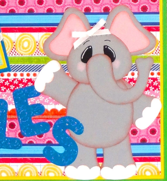 12 X 12 Premade Scrapbook Pages Giggles and Grins