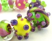 Pansy Mini Sampler Bead Set