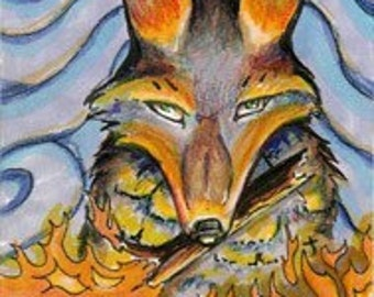 Coyote's Gift ACEO Print