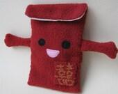 RESERVED for Supahcute-Custom Red Envelope (Hong Bao) Plush