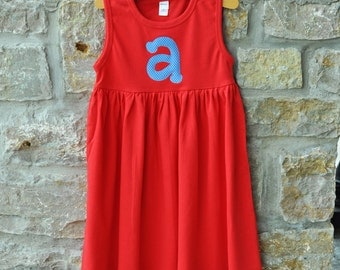 Totally Classic Custom Monogram Dress - 18m-8 years - Julianne Originals