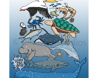 SAVE THE GULF - with love