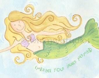 Embrace your inner mermaid