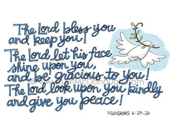 God bless you and keep you