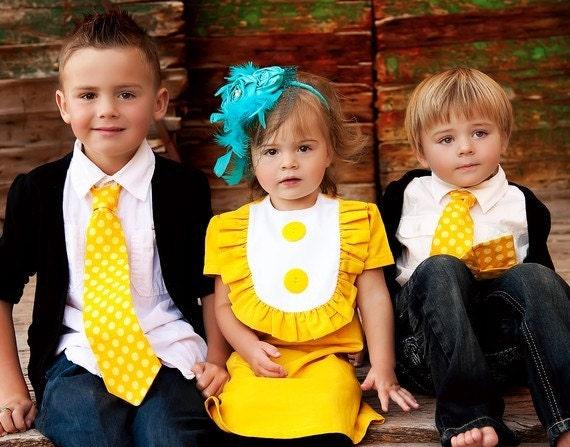 Retro Girls bib dress with ruffle  Layla dress-children clothing