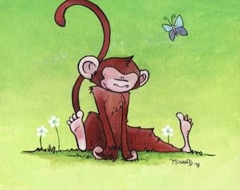 Shoeless Monkey