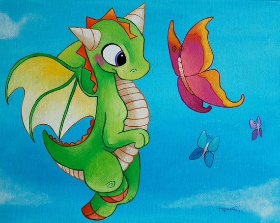 Flying Friends -dragon