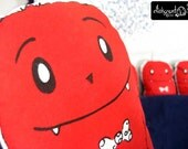 Red Monster Plush Stuffies Super Soft Collectable