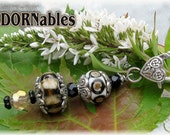 Lampwork ADORNables - Clip them anywhere you'd like to add a little ShaZazz