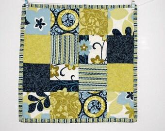 Luxury Mini Quilt Lovie Blanket City Blooms