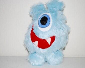 Mr. Radley, a friendly monster toy