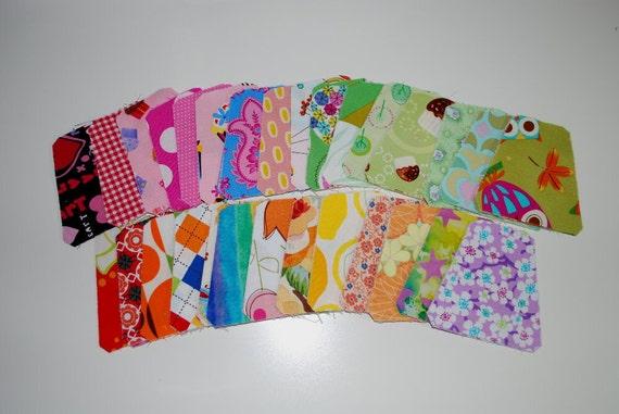 Tumbler Block Baby Quilt top kit Girls