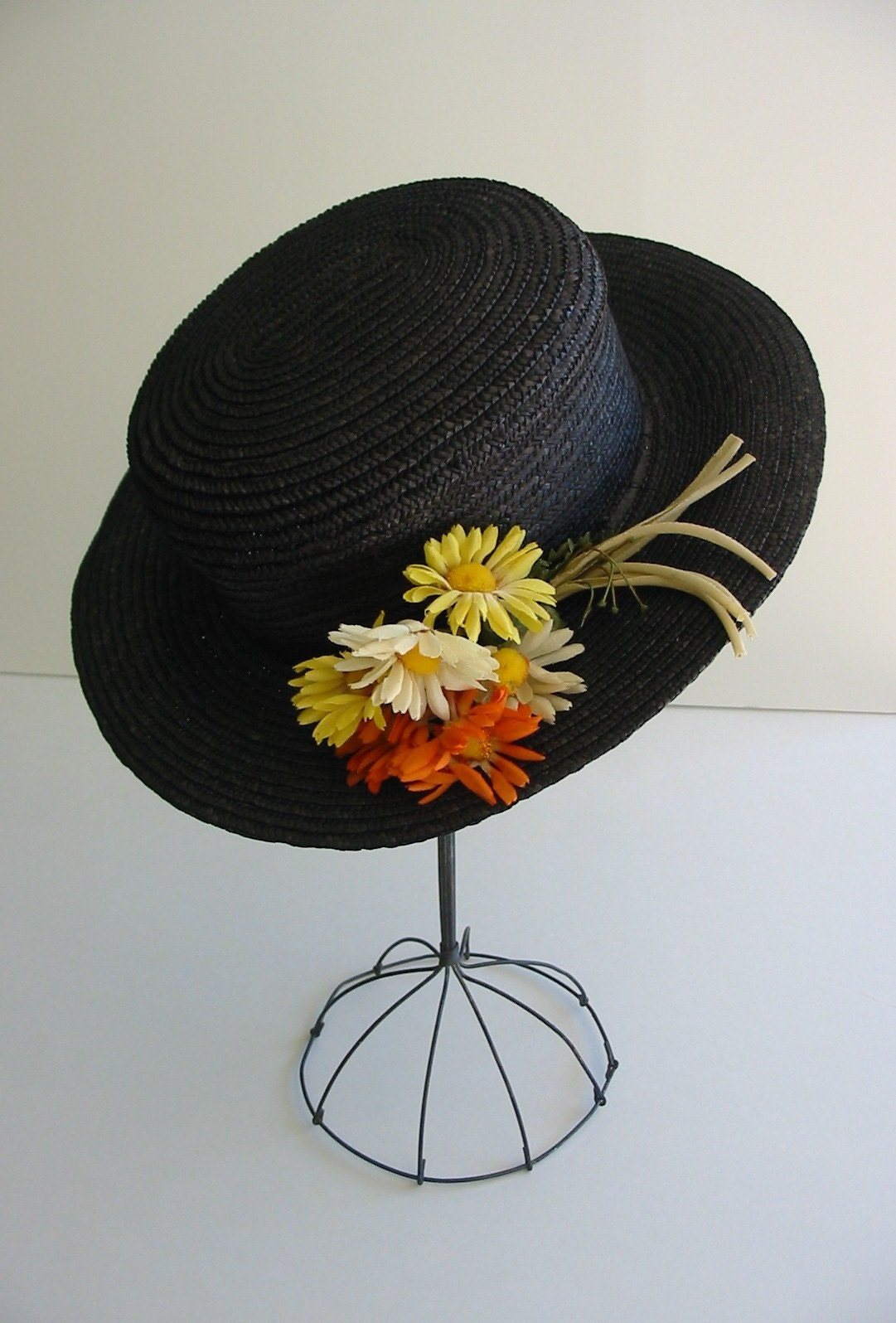 Mary Poppins Black Hat Mary Poppins Straw Hat