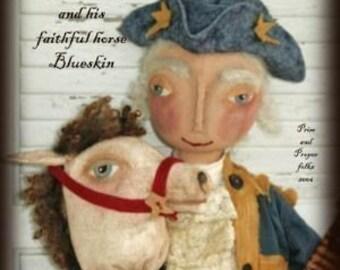 George Washington and Blueskin Horse and Doll Epattern