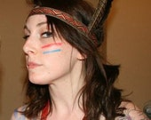 THE NATIVE - Custom Headband - Perfect for Fancy Dress, Village People, Buffalo Stalking.