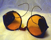 Vintage Steampunk Safety Driving Glasses Motorcycle Goggles