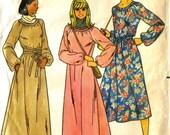 Vintage 1970s Butterick Dress Pattern