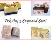 Pick 3 Soaps and Save