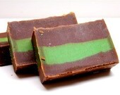Andes Mint Chocolate Cold Process Soap
