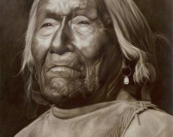 Nar-ah-ke-ge-etsu, Apache Scout
