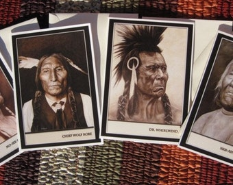 Set Of Four Blank Greeting Cards (Buyer's Choice)