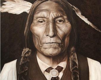 Chief Wolf Robe, Cheyenne