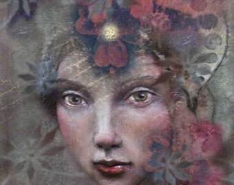 Aliah  - 8x10 Fine Art Print by Chopoli