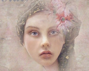 Jasmin - 8x10 Fine Art Print by Chopoli