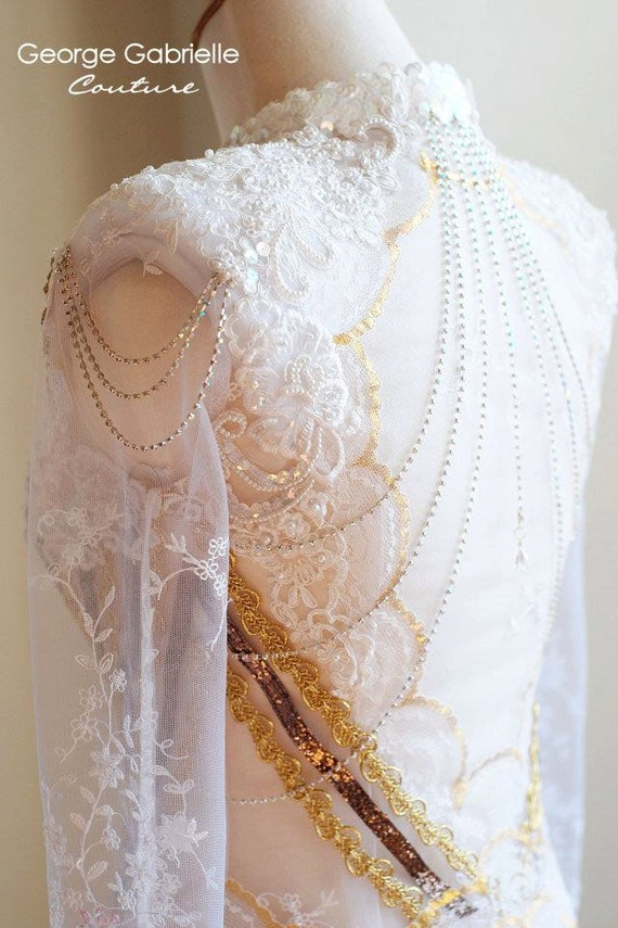 Items Similar To Indonesian Kebaya Wedding Dress Gown