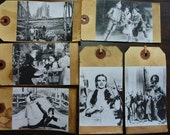 Wizard of Oz Primitive Hang Tags Vintage Style