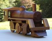 Walnut Train Locomotive