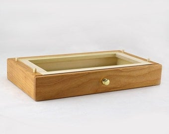 Modular Jewelry Box System - Cherry Standard Drawer