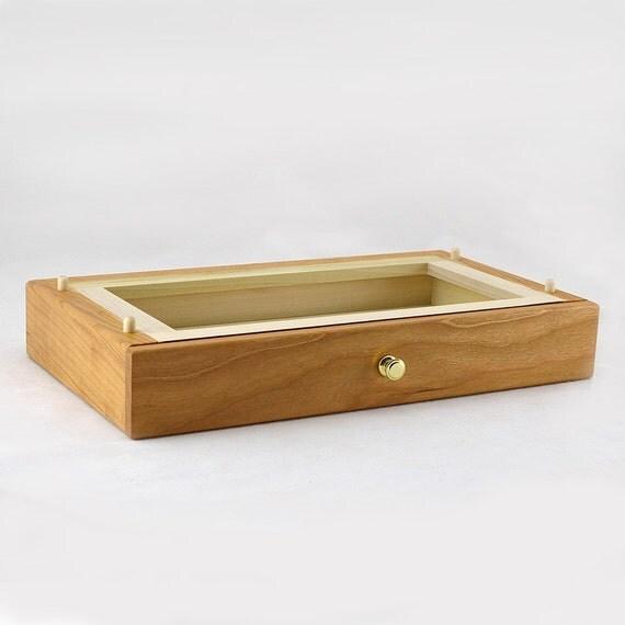 Modular Jewelry Box System - Cherry Standard Drawer