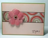 Mom - card with envelope
