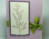 Simple Pleasures Card with envelope