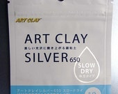 Art Clay Silver 650 Slow Dry Clay - Low Fire 10g ON SALE