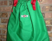 Christmas Peppermint Candy Boutique Bandana Dress FREE MONOGRAM