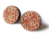 HALF PRICE That Vintage Morocco - Earrings - Tasmanian Myrtle Listing