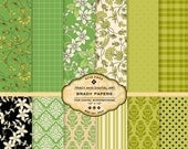 Brady Digital Papers for scrapbooking, card making, photographers, photo cards