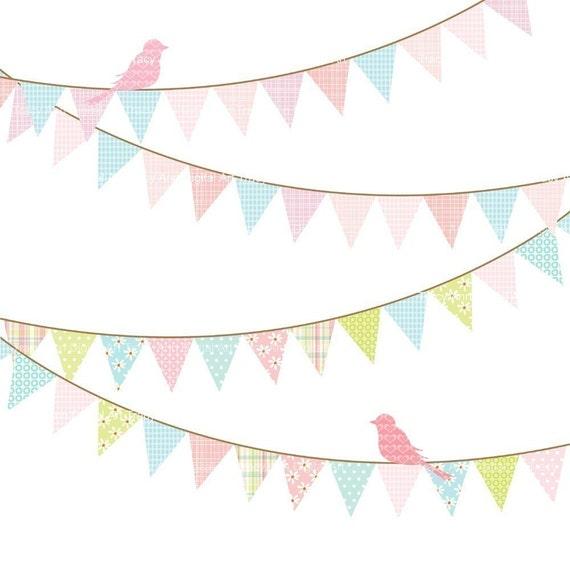 Items Similar To Birthday Banner Clip Art