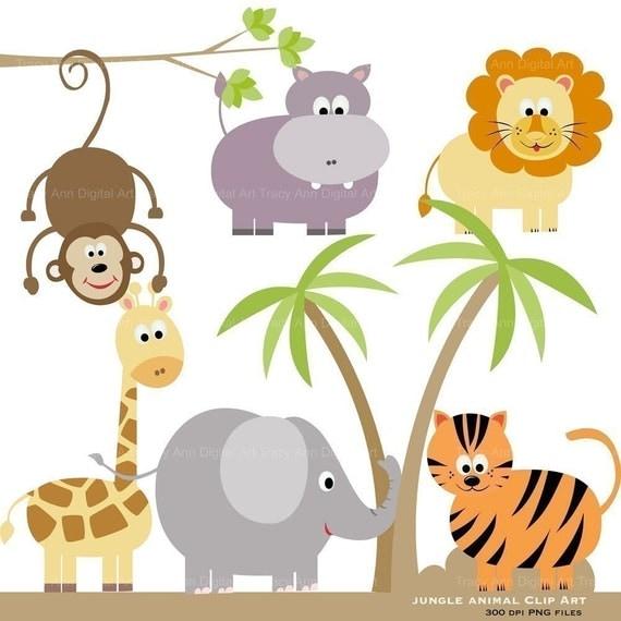 Dschungel-Tier Clip Art Original Zoo-Dschungelbuch-clipart