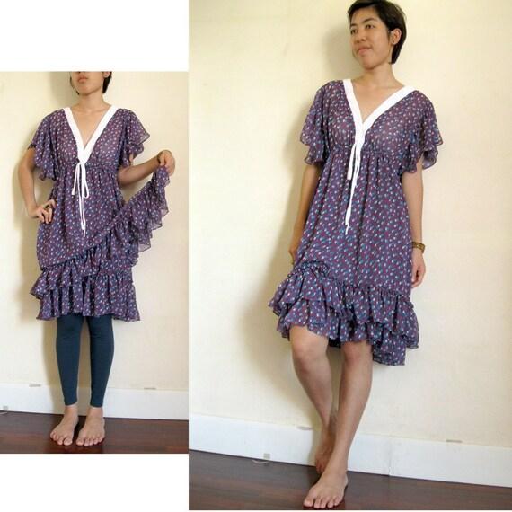 Two Layers Chiffon Dress 01