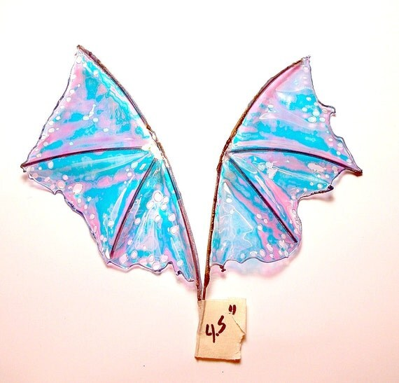Dragon Wings 4.5 inch color Opal Sparkle