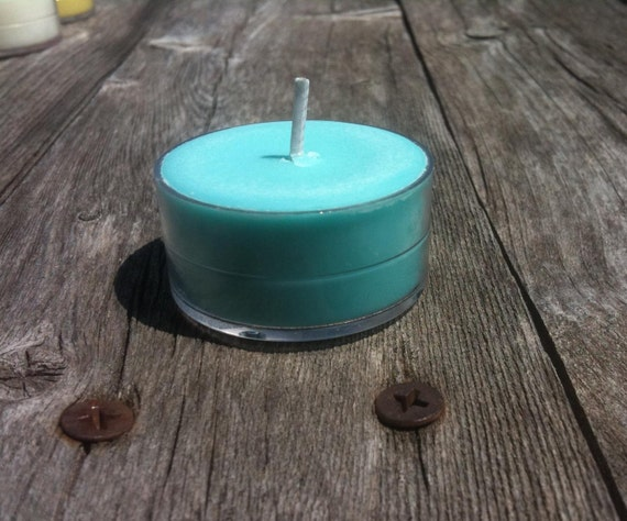 Sea Breeze Scent 6 Pack of Soy Tealights