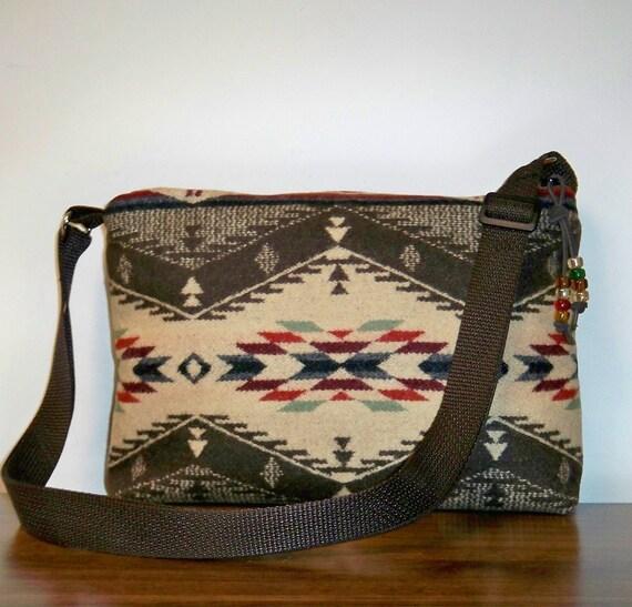Spirit of the People Purse Shoulder Bag Pendleton Wool