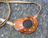 Steampunk See-Thru Pirate Leather Eye Patch Eyepatch (GBH 136)