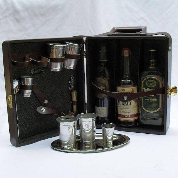 Steampunk Con Travel Bar Drinks Case (CUS119)