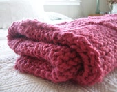 Raspberry Baby Throw