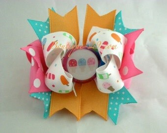 M2MG Popsicle Party Boutique Hair Bow