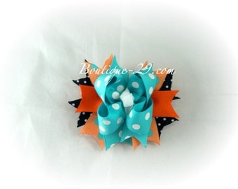 M2MG Tropical Bloom Boutique Hair Bow
